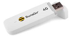 4g USB Модем билайн Huawei