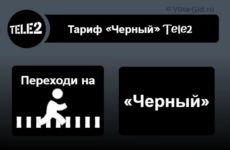 Тариф «Черный» Теле2